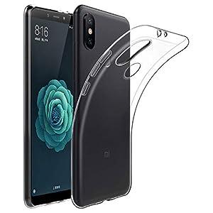Cover Xiaomi Mi A2, ViViSun Protettiva Custodia Xiaomi Mi A2 Cover Silicone Trasparente Case Molle 6 spesavip