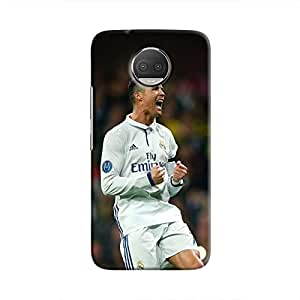 Cover It Up - Cristiano Goal Moto G5s Plus Hard Case