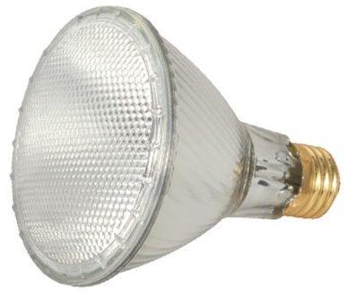 15 Pack Satco S2243 60 Watt 1090 Lumens PAR30 Long Neck Halogen Narrow Flood 34 Degrees Dimmable Clear Light Bulb (75 Watt Replacement)