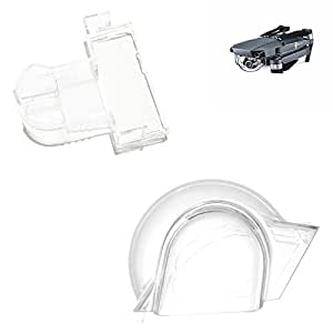 iMusk Transparent Gimbal Camera Crashproof Lock Clamp + Camera Cover Protector Holder for DJI Mavic Pro/Platinum Drone DJI Accessories
