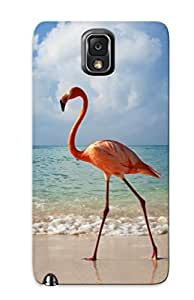 New Snap-on Exultantor Skin Case Cover Compatible With Galaxy Note 3- Birds Egret