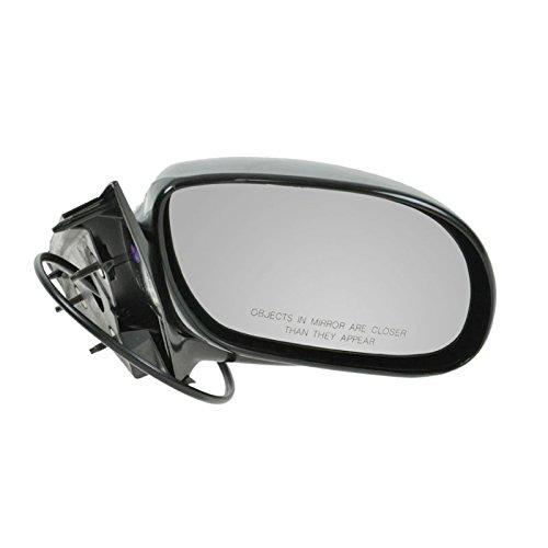 (Power Side View Door Mirror Black Passenger Right RH for 02-05 Buick Park Avenue)