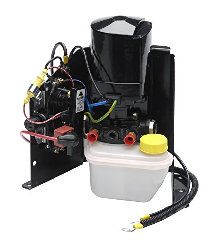 (Sierra 18-6768 Compete Power Trim Pump Assembly with Steel Bracket for Mercruiser)