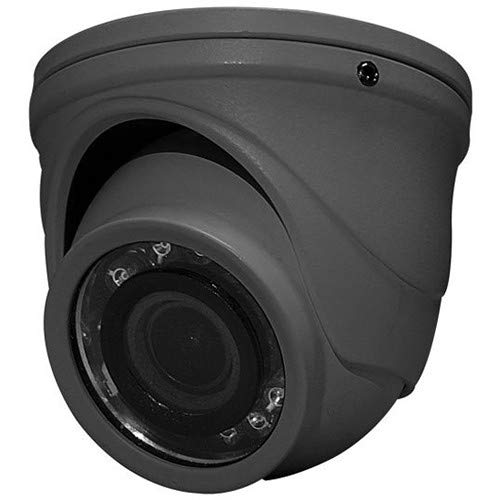 SPECO Technologies | HT71TG Network Camera, IR, Mini-Turret Color, HD-TVI, OSD, Day/Night, 2 Megapixel CMOS Sensor, 1920 x 1080 Resolution, 2.9 MM Fixed Lens, 12 Volt DC, 100/200 Milliampere, with LE