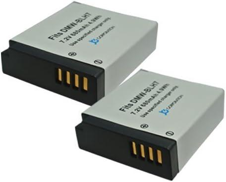 【堀出】 2個セット Panasonic DMW-BLH7 互換バッテリー