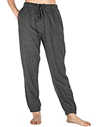abbdcc33bbc Womens Pajama Pants Cotton Sleep Pants Stretch Knit Lounge Pants with  Pockets