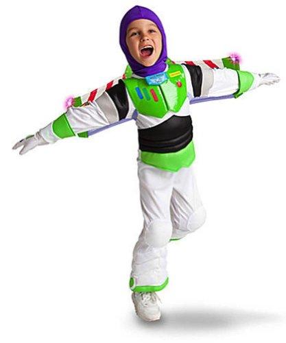 Buzz Lightyear Costume Helmet (Disney Store Light Up Toy Story 3 Buzz Lightyear Costume for Boys Size Small 5/6)