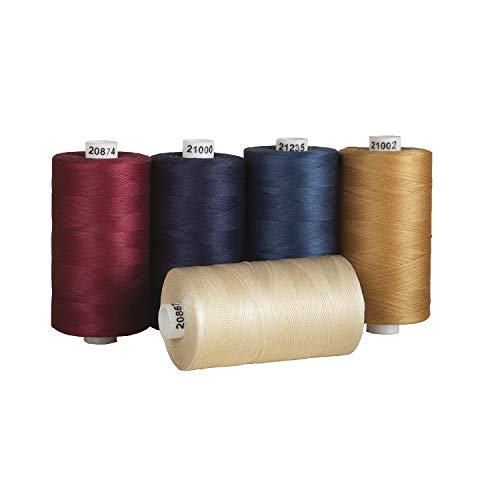 Connecting Threads 100% Cotton Thread Sets - 1200 Yard Spools (Old Glory - set of 5)
