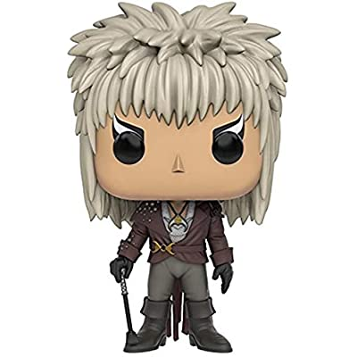 Jareth Funko POP Movies: Labyrinth - Vinyl Figure + Pop Protector: Toys & Games