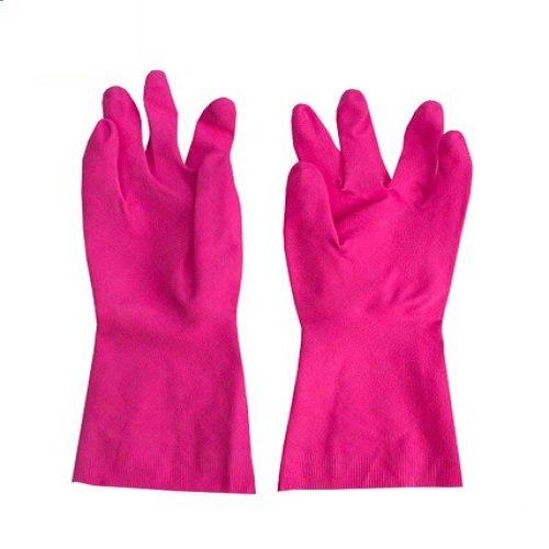 Scotch-Brite Heavy Duty Gloves (Medium)(Red)
