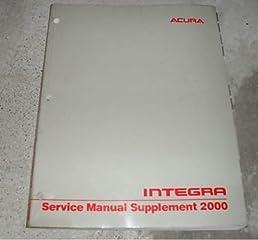 2000 acura integra repair shop manual original supplement acura rh amazon com 2000 acura tl repair manual pdf 2006 Acura Integra