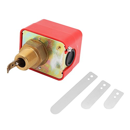 SPDT R3/4 Thread Paddle Type Liquid Water Oil Flow Sensor Switch Automatic Control 15A 250V HFS-20