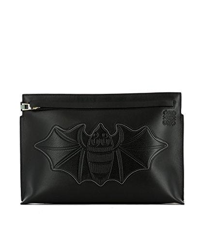 loewe-womens-12571k051100-black-leather-clutch