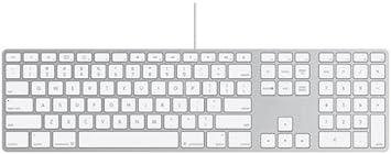 Apple MB110Y/B - Teclado (USB), Blanco
