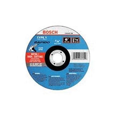 Amazon.com: Bosch tcw1s450 tipo 1 Discos de corte fino, 4 ...