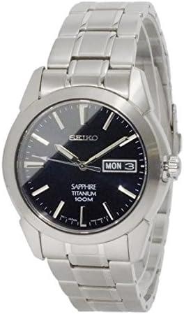 [セイコー]SEIKOSGG729P1チタニウムメンズ腕時計SEIKOダークネイビークォーツ[並行輸入品]