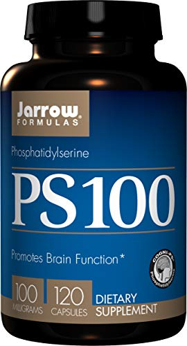 Jarrow Formulas Ps 100, Promotes Brain Function, 100 Mg, 120 Capsules (L Carnitine Vs Acetyl L Carnitine Weight Loss)