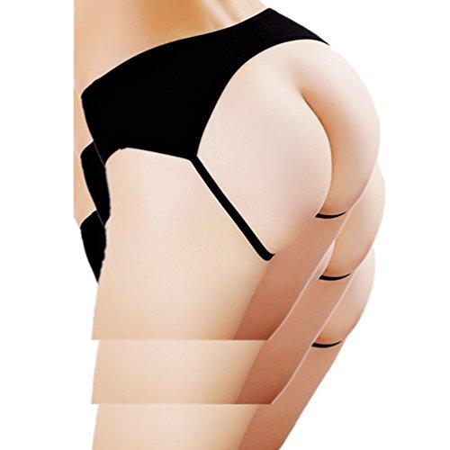 Daisland Women Sexy Lingerie Gstring Underwear Soft Panty Bikini Open Ass Thong