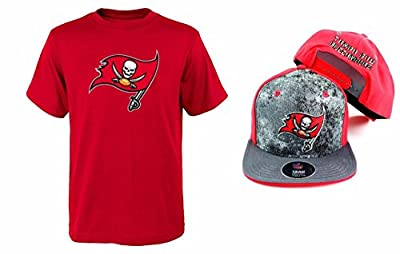 Tampa Bay Buccaneers NFL Youth Size Performance T-shirt With Cap Set