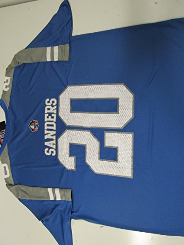 Detroit Lions Mens 2XL Barry Sanders #20 Hall of Fame Jersey ALIO 100 2X - Barry Sanders Football Jersey