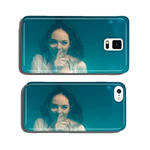 Underwater girl wearing bikini in swimming pool cell phone cover case iPhone5