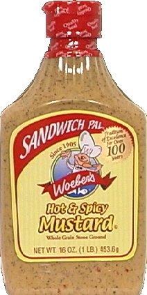 Mustard for sandwiches
