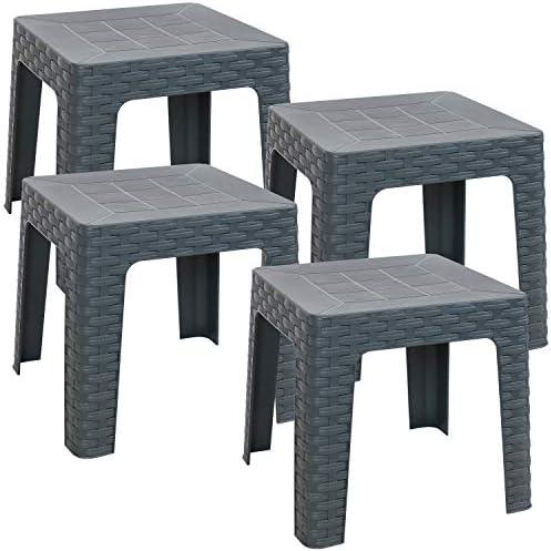 Sunnydaze Patio Side Table