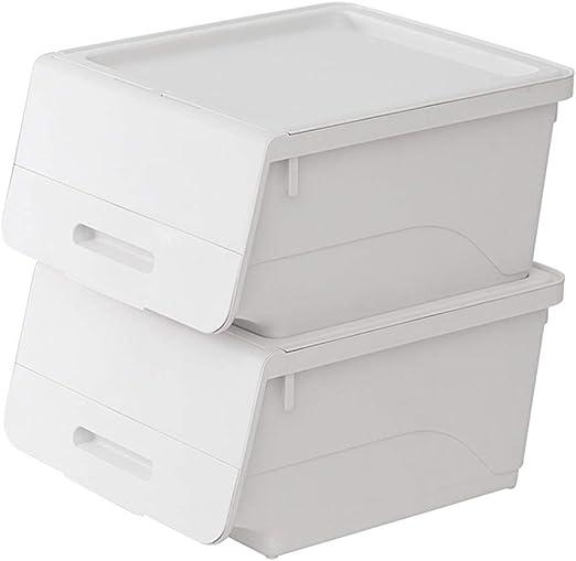 L.P Caja de Almacenamiento con Tapa 2 Paquetes para papelería y ...