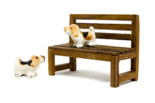 All Costumes In Force Unleashed 2 (Blue Mango Dogs ShihTsu Ceramic 2 x 3 cm. and Wooden Bench in The Park 5.5 x7.5 cm. Handmade Design Interior Decoration Showcase. Bedroom. Backyard. Collections in Showcase.)