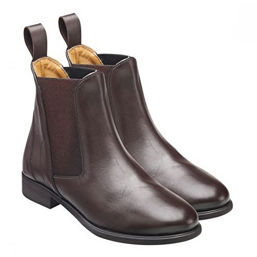 Harry Hall Donna / Donna Stivali Jodhpur In Pelle Clifton Marrone