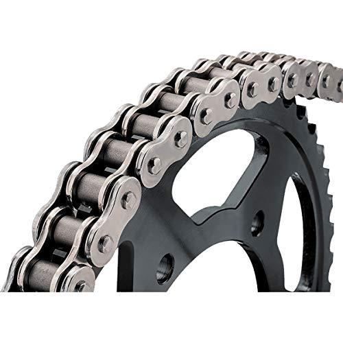 BikeMaster 530 Motorcycle Chain - Natural Finish / 110 Length 530H X 110