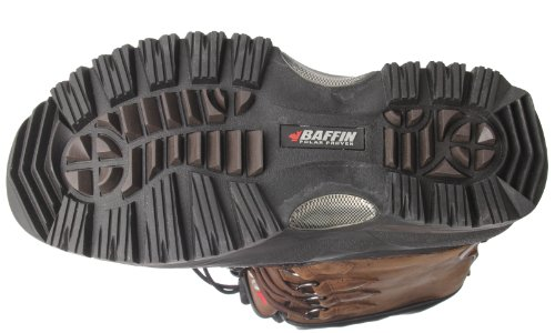 Baffin Mens Shackleton Snö Boot Bärs Brun