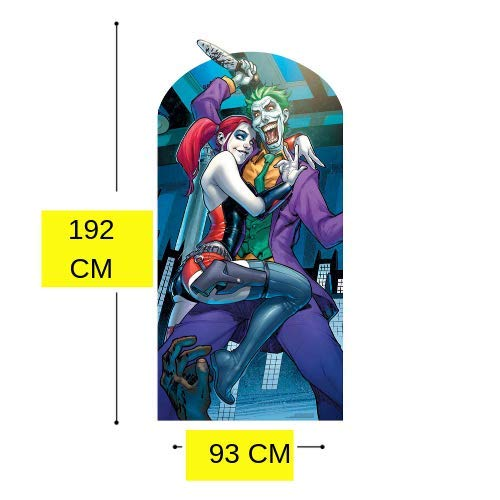 Star Cutouts SC1346 Harley Quinn and The Joker - Recorte de ...