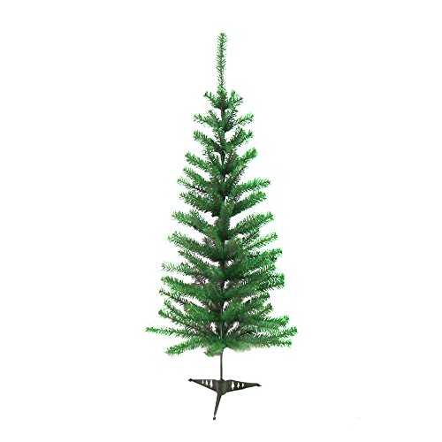 ALEKO CT48H12 Artificial Holiday Christmas Tree Premium Pine with Stand 4 Foot Green