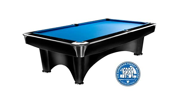 Mesa de billar Dynamic III, 9 ft. (Soporte), color negro mate ...