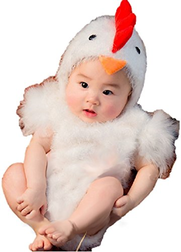 Little Baby Kitty Costume (Ramatic Unisex Newborn Baby Photography Chicken Costume Kitty Cat Toddler Christmas Cosplay)