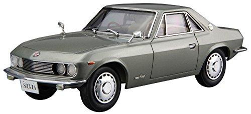 青島文化教材社 1/24 ザ・モデルカーシリーズ ニッサン CSP311 シルビア 1966 プラモデル No.66
