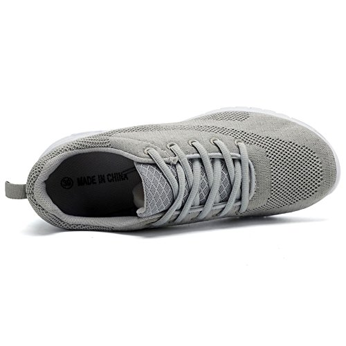 Lightweight CIOR Sneakers Running Fantiny Walking Shoes Women Light Gray nwzwaxq