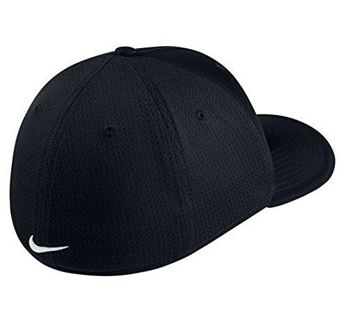NIKE Unisex Classic 99 Mesh Golf Cap, Black/Black/Anthracite/White, Large/X-Large by NIKE (Image #2)