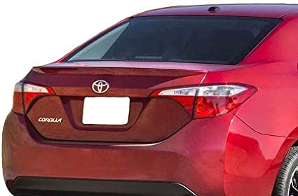 2014-2019 TOYOTA COROLLA FACTORY PAINTED 3R3 BARCELONA RED BODY SIDE MOLDING