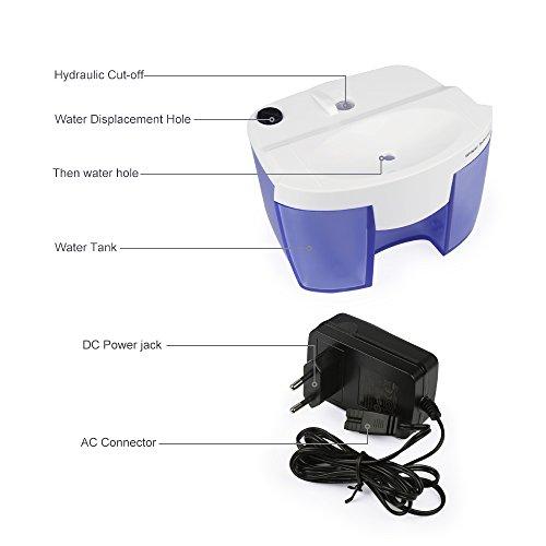 Deumidificatori aidodo portatile mini elettrico deumidificatore con 500ml serbatoio acqua per - Deumidificatore per bagno ...