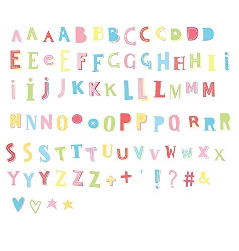 A Little Lovely Company ltle024/ /Lettres et symboles Funky Couleur pour lightbox