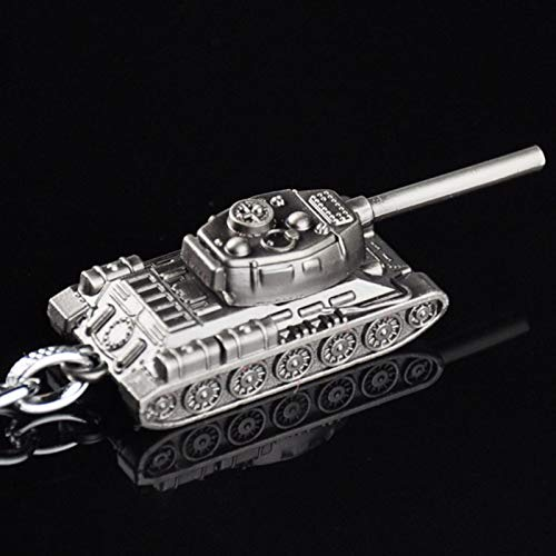 SaveStore Keychain Alloy Tank Model Metal Pendent Keyring Gift Key Chain Key Holder for Car Fans Souvenirs