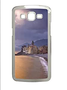 Samsung Galaxy Grand 2 Case - Town By The Sea Custom Samsung Galaxy Grand 2 Case Cover - Polycarbonate - Transparent