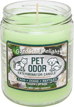 Pet Odor Exterminator Jar Candle - Gardenia Delight