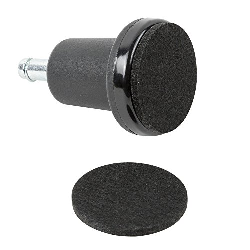 - High Profile Bell Glides with Felt Pads Included for Chairs and Stools- 5 Per Set by Pop Designs