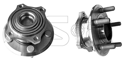 GSP 123301 Axle Bearing and Hub Assembly - Left or Right Rear (Driver or Passenger Side)