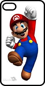 Happy Jumping Mario Tinted Rubber Case for Apple iPhone 5 5s