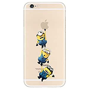 amazon phone cases for iphone 4 character transparent iphone 6 minions 7465
