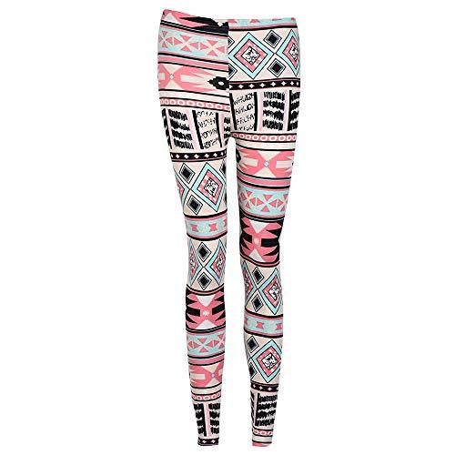 MORCHAN ? no?l Femmes Maigre Leggings Stretchy Fleur de cerf imprim Crayon serr Pantalons Jeans Combinaisons Pantalon Court Collants Knickerbockers Rose